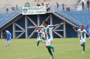 Manaus FC desencanta e goleia São Raimundo por 4 a 0 na Colina