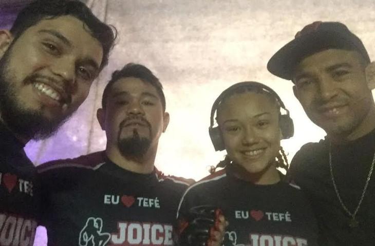 Menina de Ouro de Tefé-AM brilha no Shooto Brasil 70