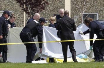 Dois adultos mortos e dois estudantes ficaram gravemente feridos