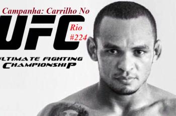 CLEVERSON CARRILHO  EM  MAIS UMA TENTATIVA DE LUTAR NO UFC