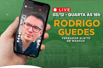 ENTREVISTA COM VEREADOR ELEITO DE MANAUS RODRIGO GUEDES