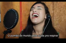 """""""RESPIRA AMAZONAS"""":   SAMEL E INSTITUTO TRANSIRE, SÃO HOMENAGEADOS POR  ARTISTAS"""