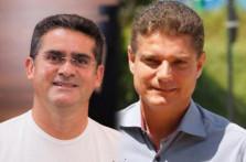 PREFEITO DAVID ALMEIDA E VICE-PREFEITO MARCOS ROTTA CONCEDEM COLETIVA SOBRE O COMPLEXO VIÁRIO DO MANOA