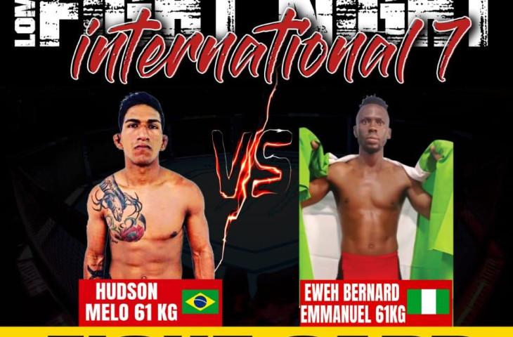 ATLETA AMAZONENSE DE MMA, FARÁ LUTA INTERNACIONAL NA ÁFRICA