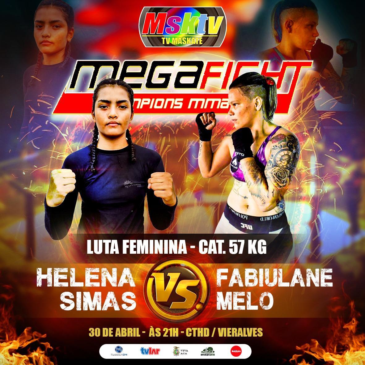 MEGA FIGHT 3.0 JÁ É O EVENTO DE MMA MAIS COMENTADO NA ATUALIDADE.